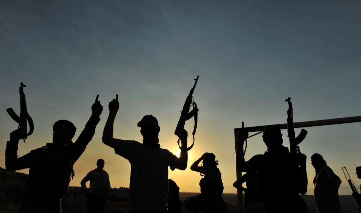 صورة اعتقال 700 مقاتل أجنبي في سوريا