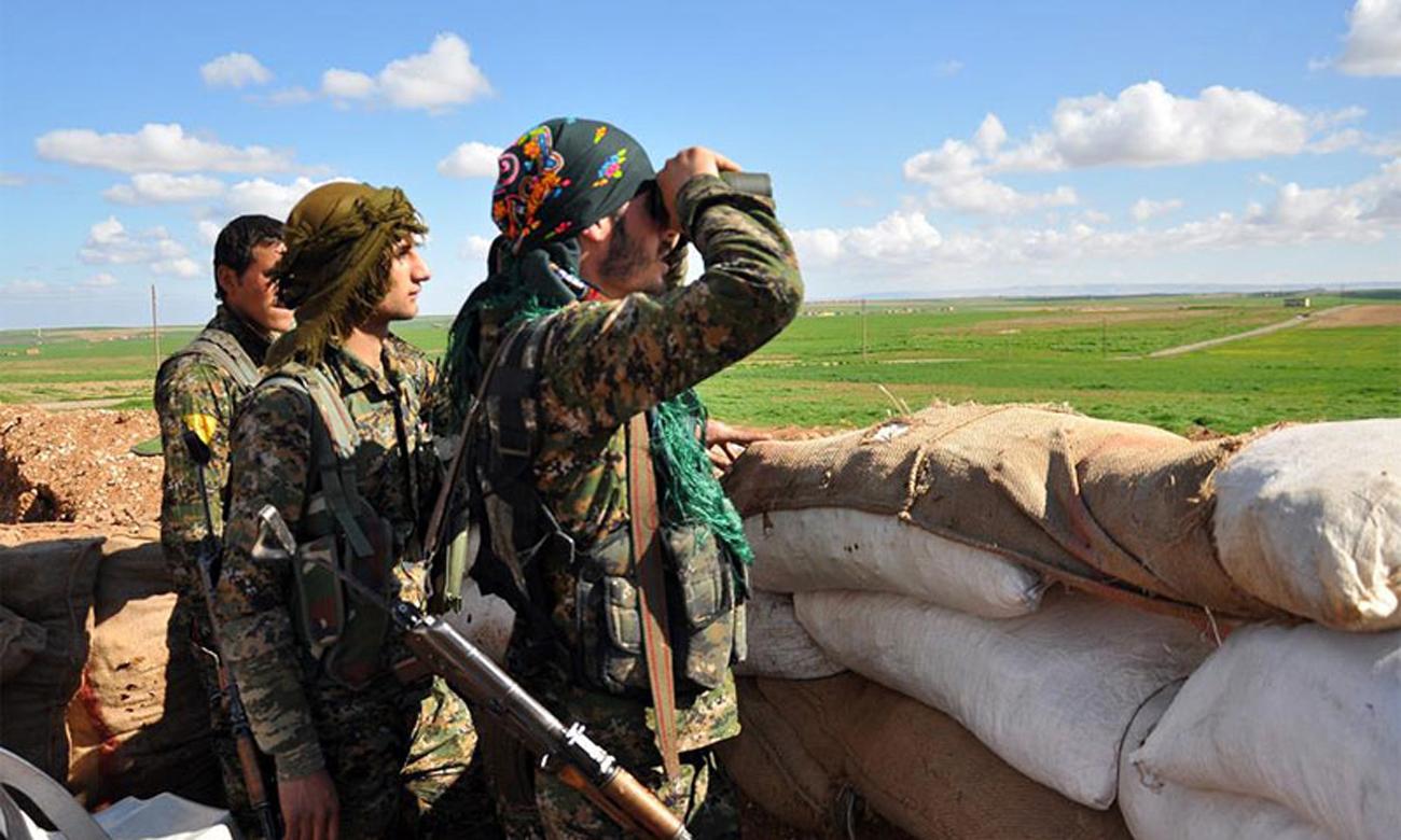 صورة الوحدات الكردية تناشد الأسد