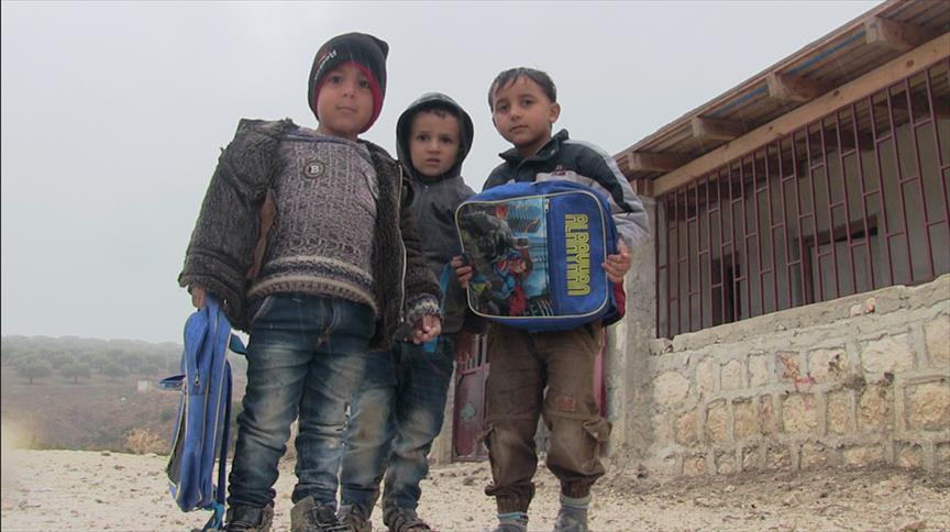 صورة إدلب..80% من المدارس بحاجة لترميم والمدرسون يعملون تطوعيا