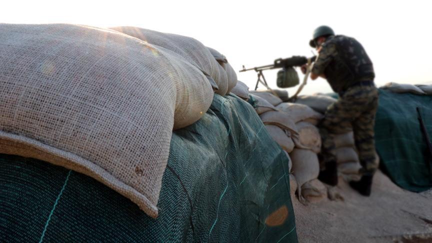 صورة الوحدات الكردية تقتل جندي تركي في سوريا