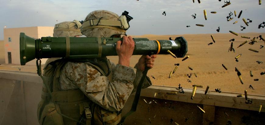 صورة فيديو..أعتى الصواريخ الأمريكية وصلت للوحدات الكردية لتدمير الدبابات التركية