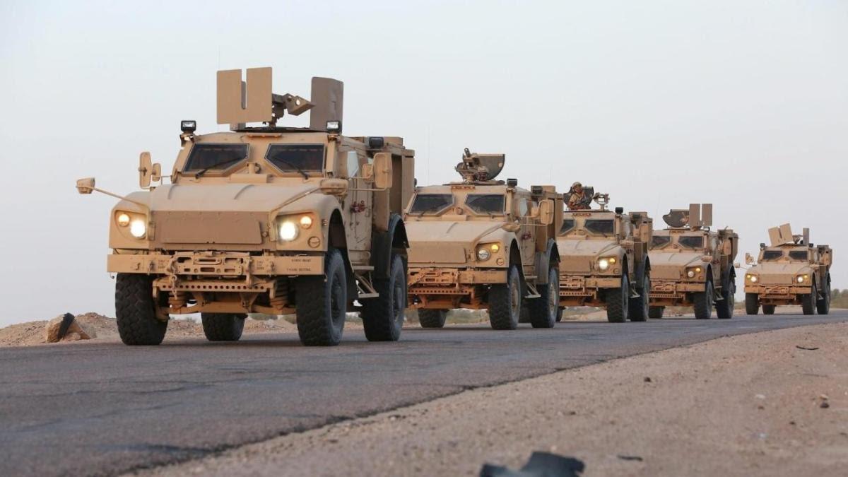 صورة سوريا..التحالف الدولي يعزز مواقعه بـ 100 شاحنة عسكرية
