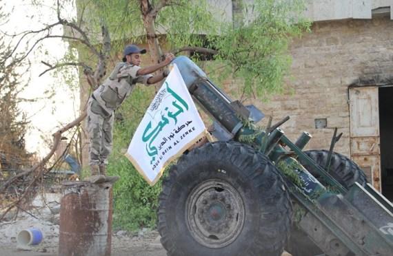 """صورة تحرير الشام تبتلع حركة """"الزنكي"""" شمال سوريا"""