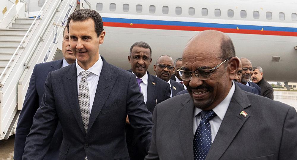 """صورة البشير: أنا كـ """"الأسد"""" أتعرض لمؤامرة كونية!"""