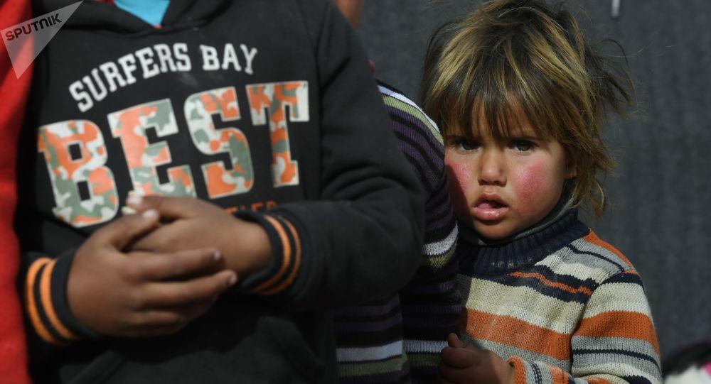 صورة منظمة عالمية: البرد يقتل عشرات الأطفال داخل مخيم للنازحين السوريين