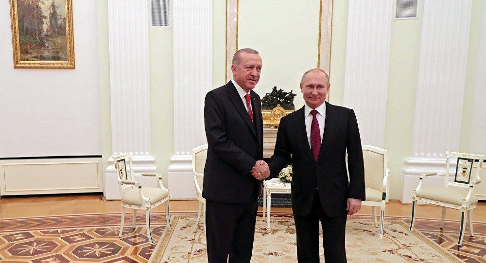 صورة بوتين يقدم لأرودغان مفتاح المنطقة الآمنة شمال سوريا.. ما هو؟