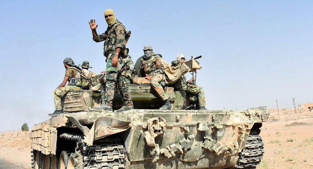 صورة قسد: قتلنا 71 من تنظيم الدولة بدير الزور