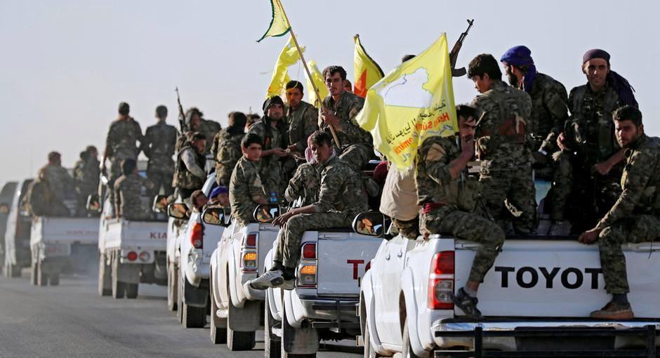 صورة الوحدات الكردية تسيطر على موقع هام من تنظيم الدولة بدير الزور