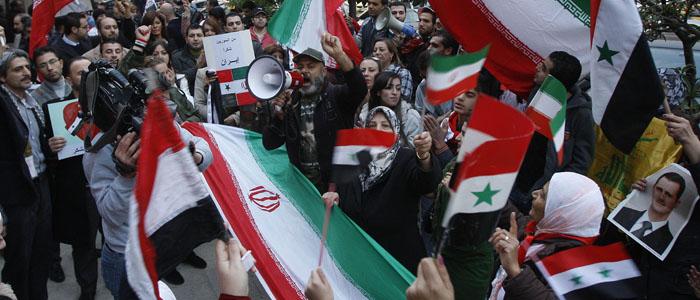 صورة الأسد يتحدى العرب: أبواب اقتصادنا مشرعة أمام الإيراني!