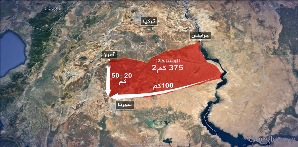 صورة تركيا: يمكننا إقامة منطقة آمنة بمفردنا في سوريا