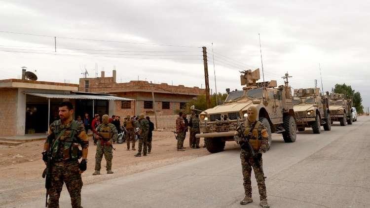 """صورة عاجل: رتل للتحالف الدولي يتعرض لهجوم بـ""""مفخخة"""" في الحسكة"""