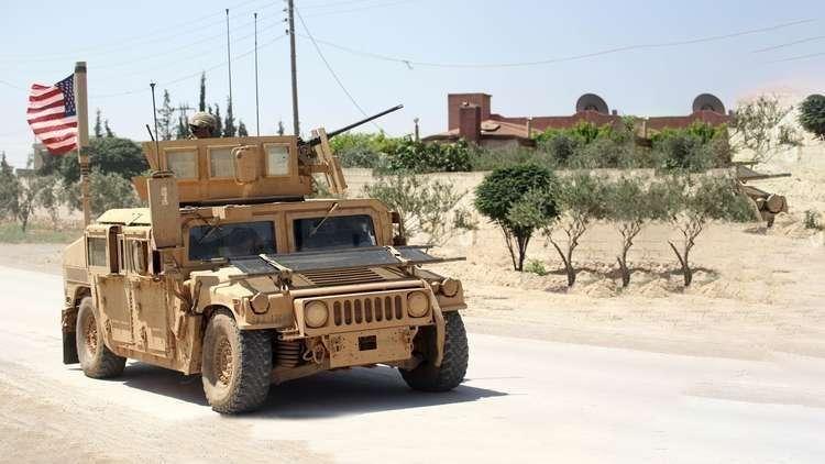 صورة أولى دفعات الجيش الأمريكي تغادر سوريا