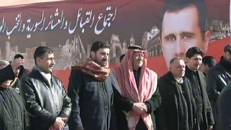 صورة الأسد يدفع العشائر العربية لمواجهة تركيا