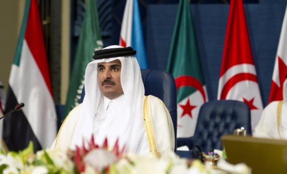صورة قطر تقدم منحة بـ 50 مليون دولار لدعم اللاجئين السوريين
