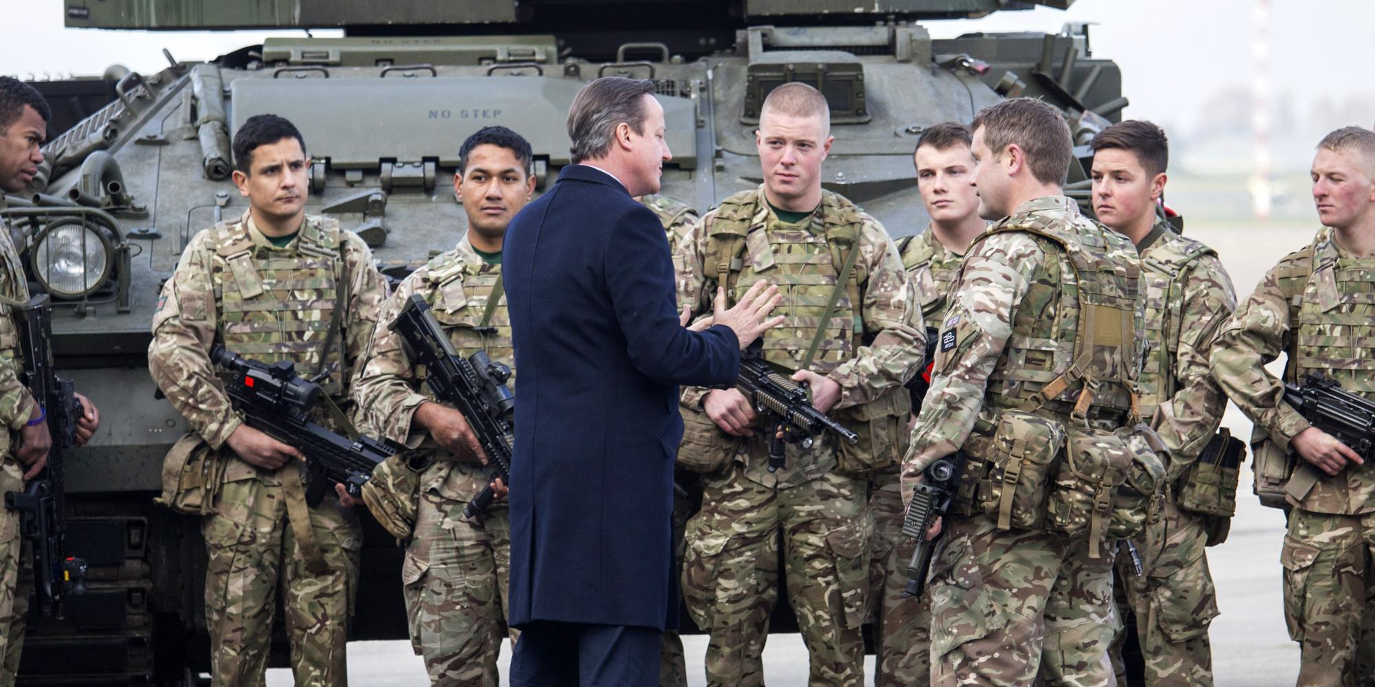صورة قوات بريطانية خاصة في سوريا المفيدة