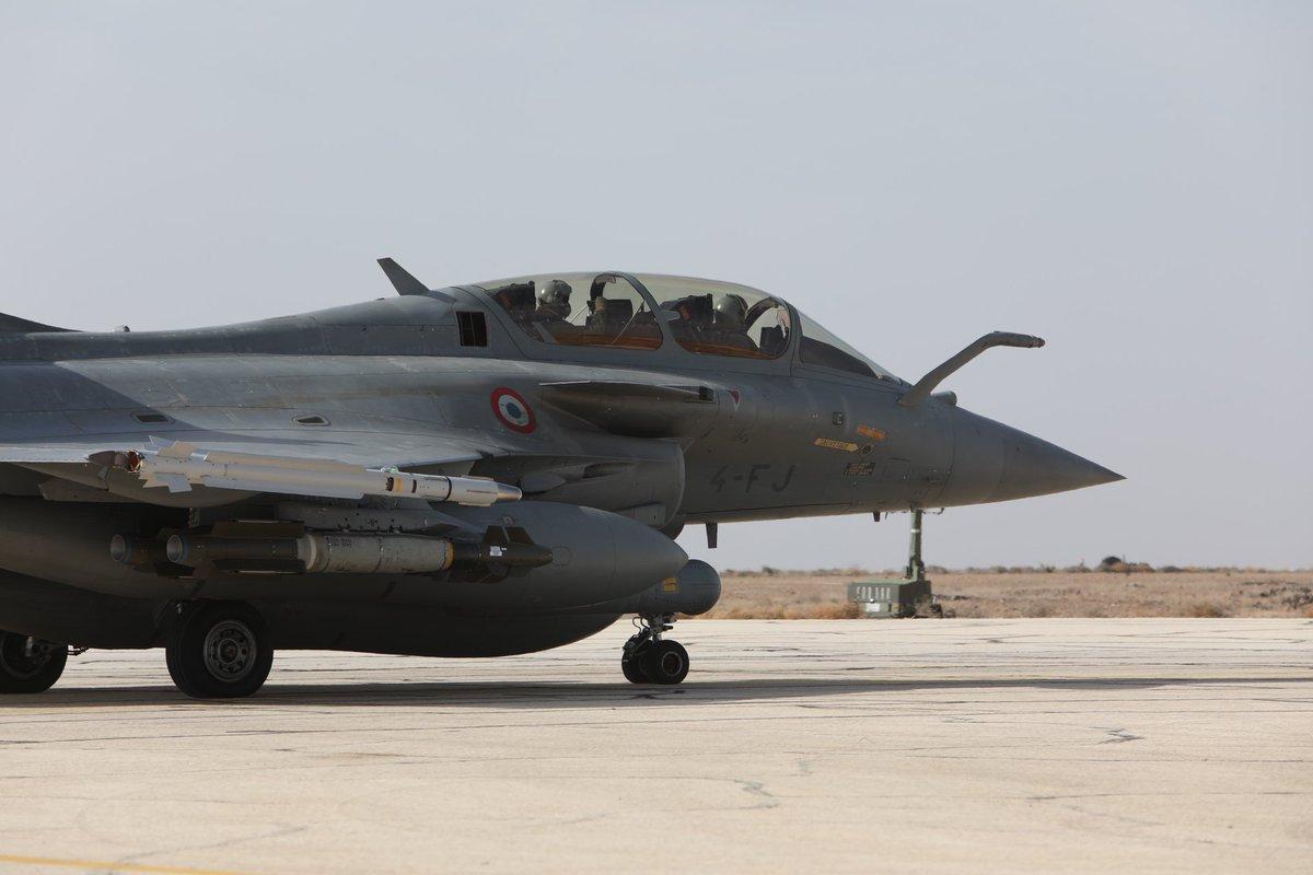 """صورة فرنسا ترسل مقاتلات """"رافال"""" إلى سوريا"""