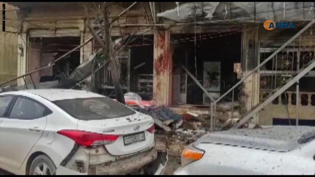 صورة تفجير منبج.. مقتل 4 جنود أمريكيين وتنظيم الدولة يتبنى