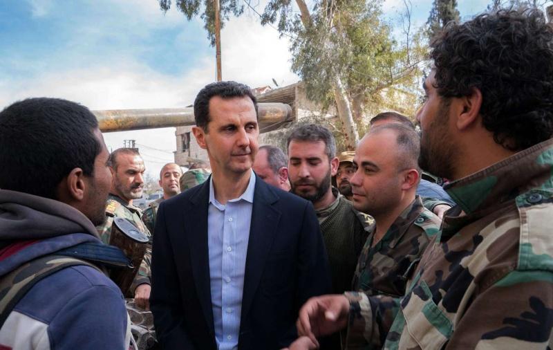 صورة الأسد يلغي تأشيرات دخول مسؤوليين أوروبيين إلى سوريا