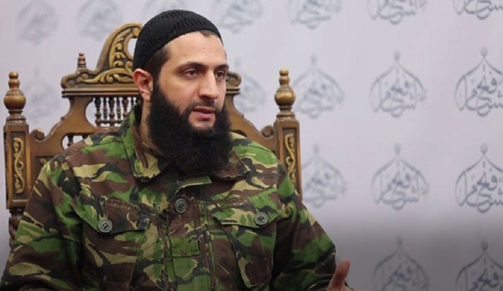 صورة الجولاني: ندعم العملية التركية شرق سوريا