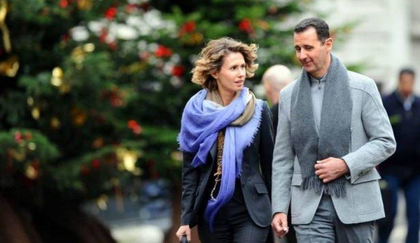صورة أقارب الأسد وزوجته في بريطانيا سراً!