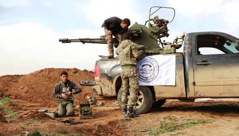 صورة اغتيال أربعة عناصر من السوري الحر بريف حلب