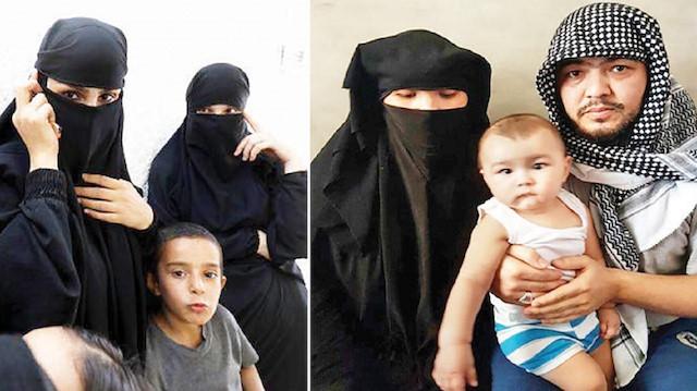 صورة ماذا حل بنساء وأطفال داعش؟