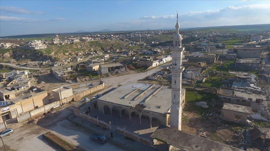صورة خروقات النظام لشمالي سوريا..سياسة لضرب الأمان