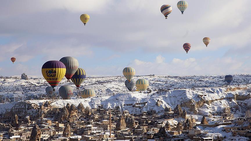 صورة 500 ألف سائح في كبادوكيا التركية..والعائدات 70 مليون يورو