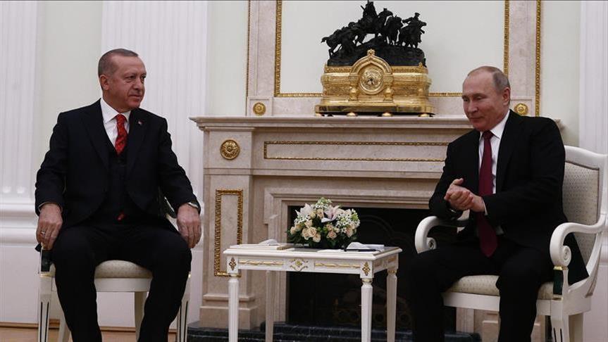 صورة أردوغان: القمم الثلاثية حول سوريا سيكون لها مستقبل مثمر