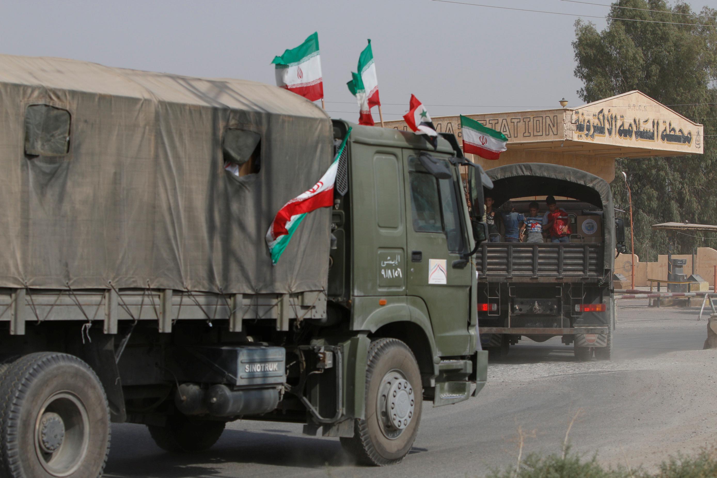 صورة استثمارات إيرانية بعيدة المدى في سوريا