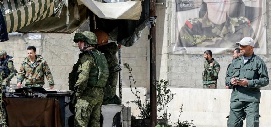 صورة سوريا..الجيش الروسي يهاجم مواقع إيرانية