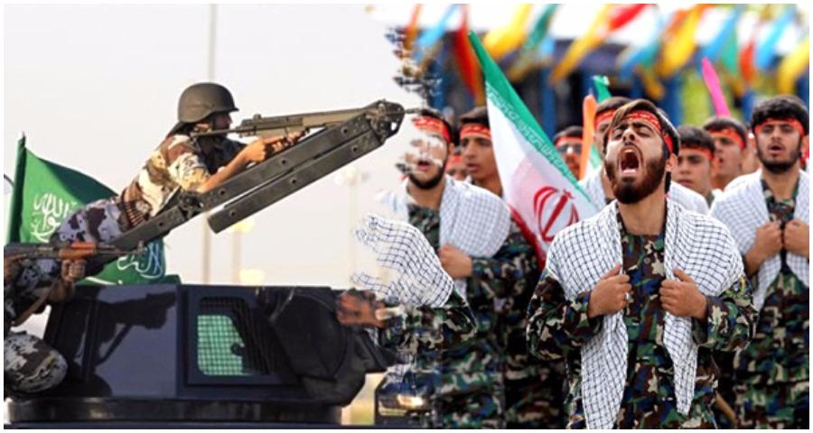 صورة إما سلام بالشرق الأوسط أو حرب على إيران