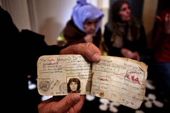 صورة وفاة أكبر لاجئة في العالم.. سورية وعمرها 112- صور