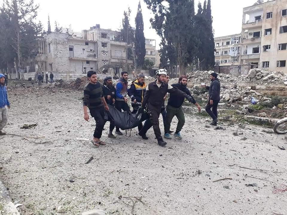 صورة تفجـ.ـيرات إدلب..مقتل وإصابة أكثر من 100 شخص