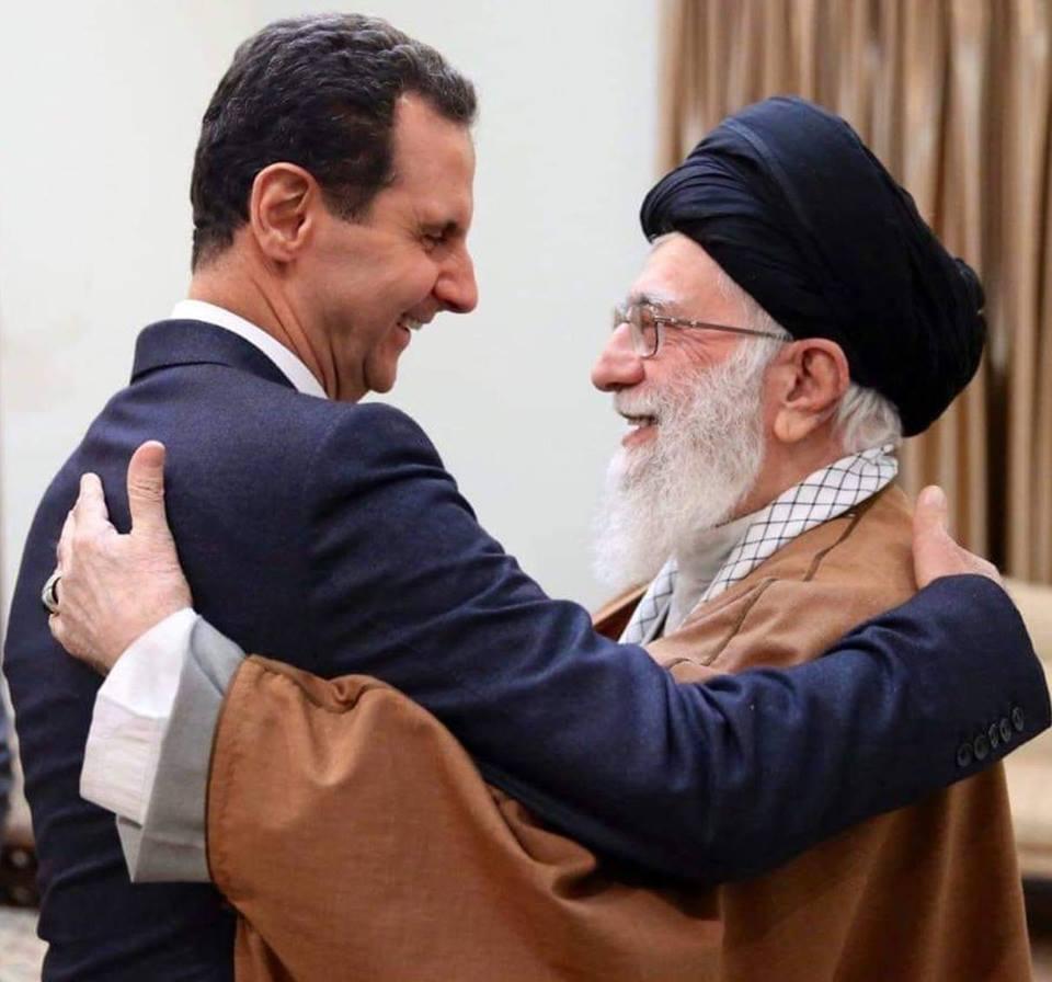 صورة ما وراء زيارة الأسد إلى إيران؟