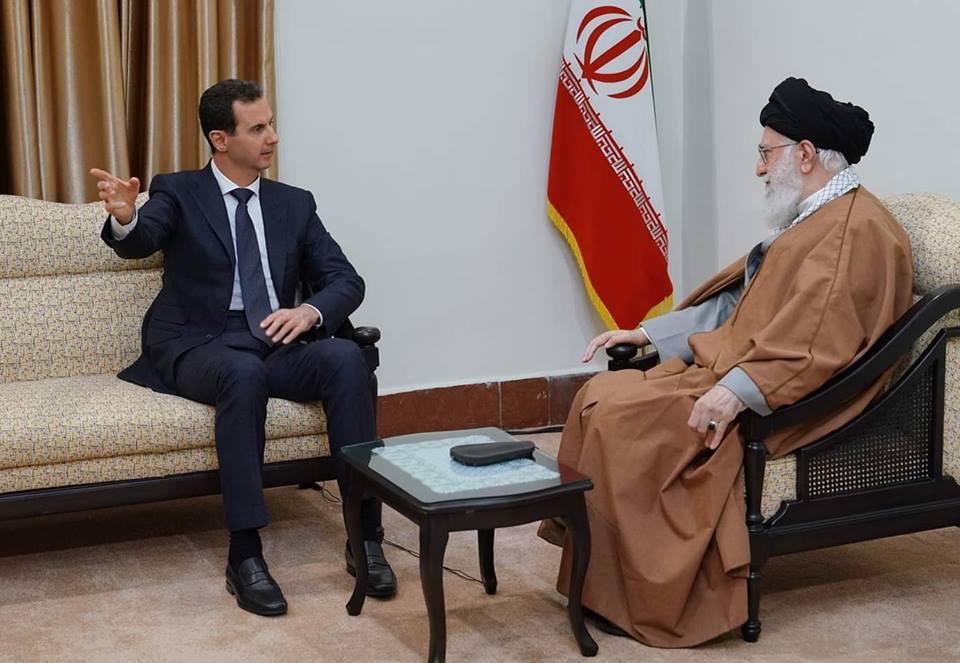 """صورة """"ظريف"""" استقال بسبب زيارة الأسد..ويغلق هاتفه بوجه المسؤولين الإيرانيين"""