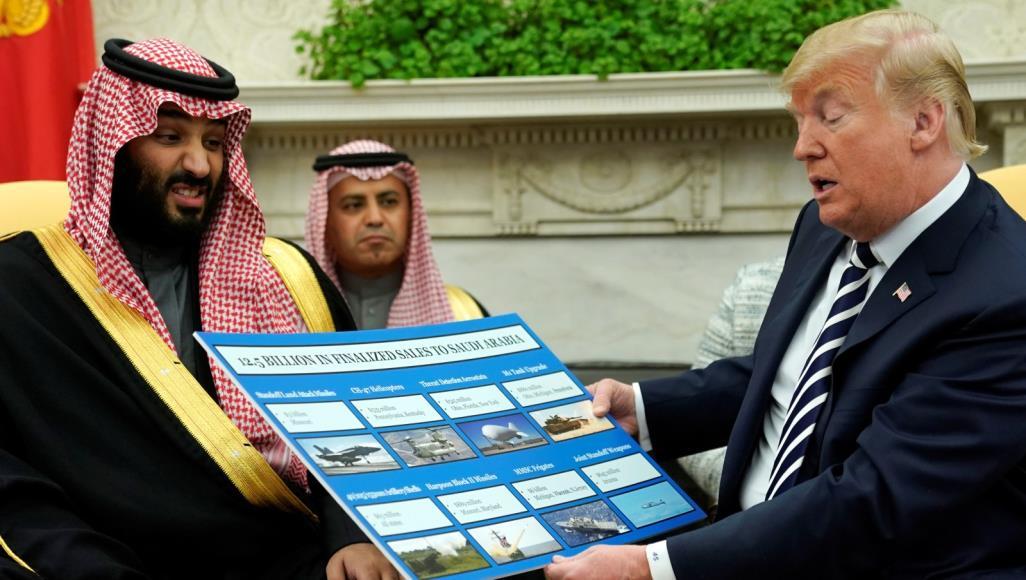 صورة تـ.ـرامب: لولانا لسقط النظام السعودي بوقت قصير.. عليهم دفع أموال طائلة مقابل الحماية