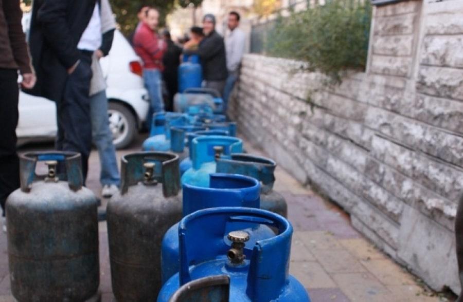 صورة وفاة أول سوري خلال انتظاره على طابور الغاز