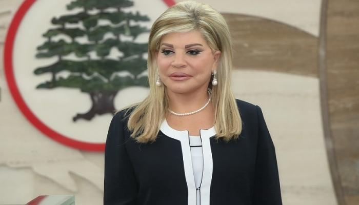 صورة وزيرة لبنانية تهاجم دعاة التطبيع مع الأسد.. وتدافع عن اللاجئين السوريين