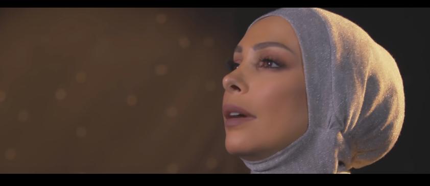 """صورة أمل حجازي تنتقد دعاة """"خلع الحجاب"""" بأغنية: حجابك تاج بلون الألماس ..بيجمل وبيحلي (شاهد)"""
