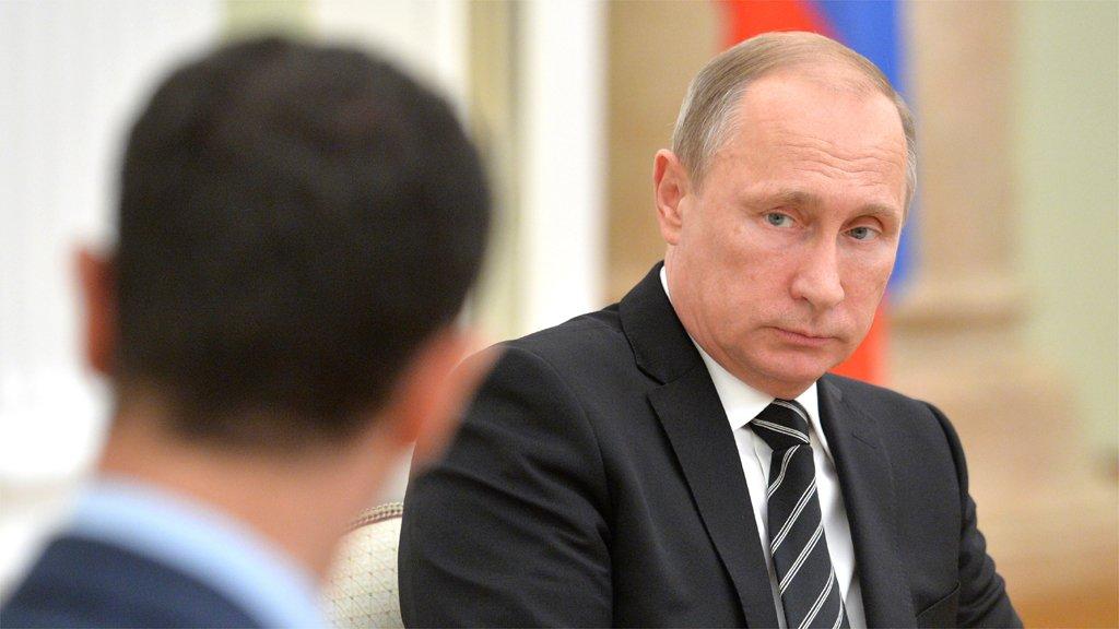 صورة بوتين والعقدة الأفغانية في سوريا