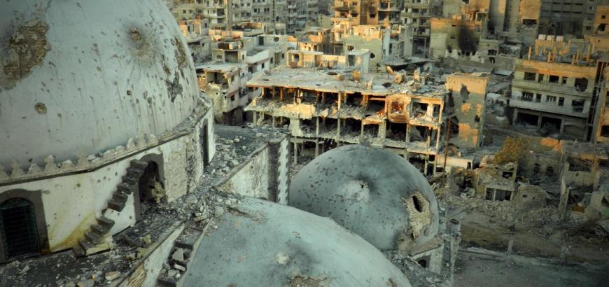 """صورة دول: مأساة سوريا سببها """"وحشية الأسد"""""""