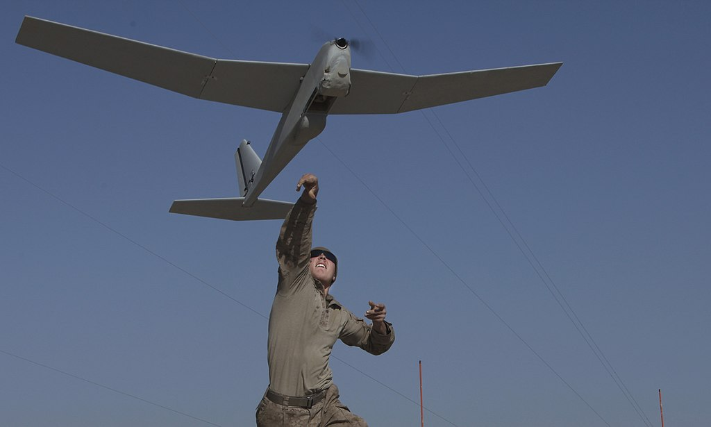 صورة درونات الشبح الأمريكية تستطلع مواقع الأسد العسكرية
