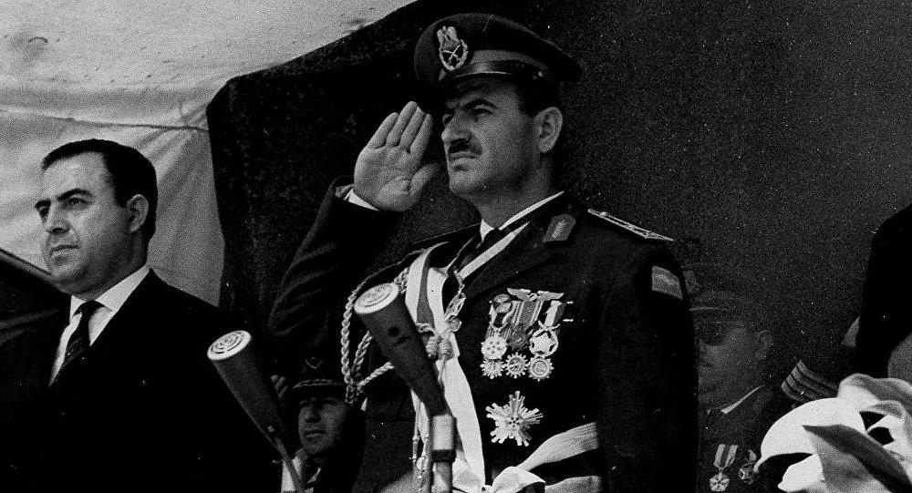 صورة صنارة حافظ الأسد ونبيذ الجولان