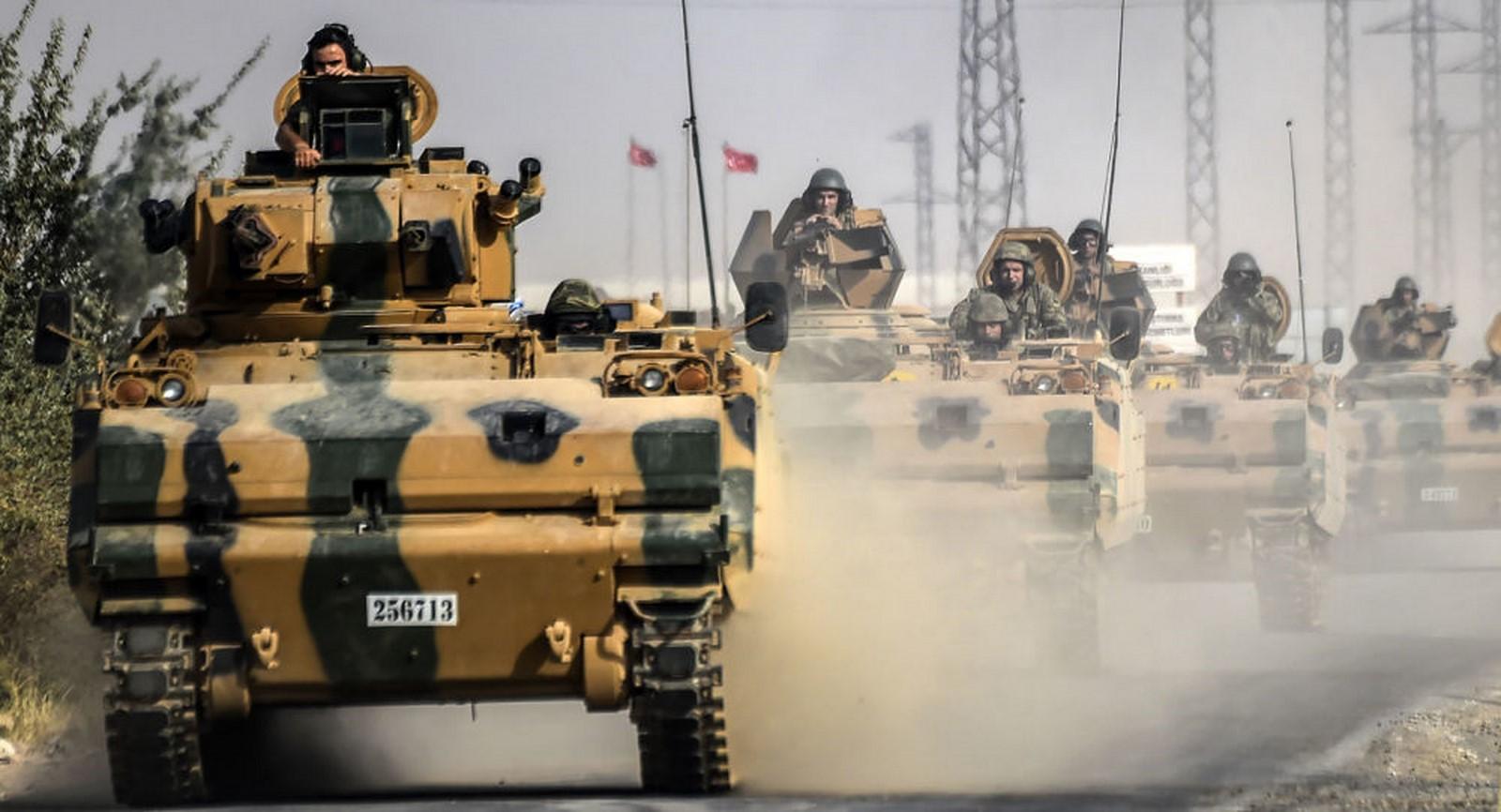 صورة تركيا والخيار الصعبفي سوريا
