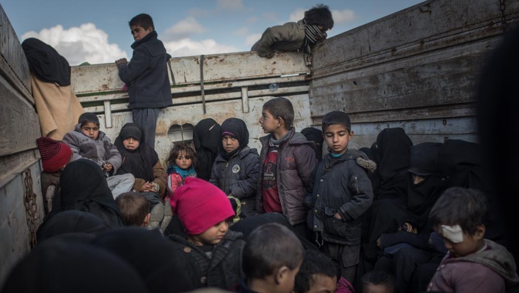 صورة ديلي تلغراف: أطفال تنظيم الدولة يموتون من البرد والجوع