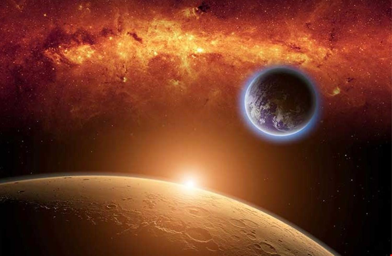 صورة بالصور.. اكتشاف حياة على كوكب المريخ