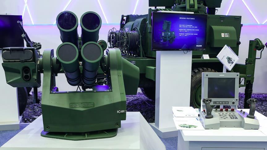 صورة وصادرات صناعاتها الدفاعية ملياري دولار.. تركيا تفتتح أول مصنع من نوعه لتطوير أسلحة تحكم عن بعد