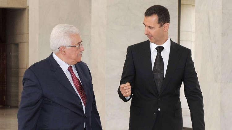 """صورة لماذا يستميت الأسد للقاء """"محمود عباس""""؟"""