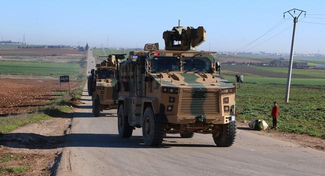 صورة اللقطات الأولى للجيش التركي في بلدات إدلب- صور وفيديو